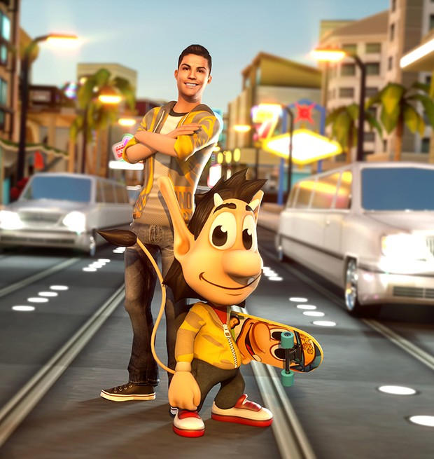 Ronaldo & Hugo: Superstar Skaters Screenshot #1 for iOS