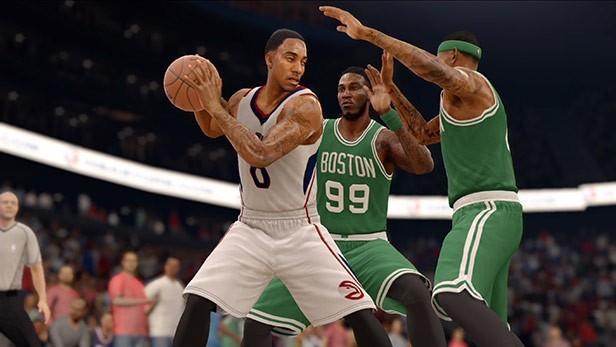 NBA Live 16 Screenshot #12 for PS4