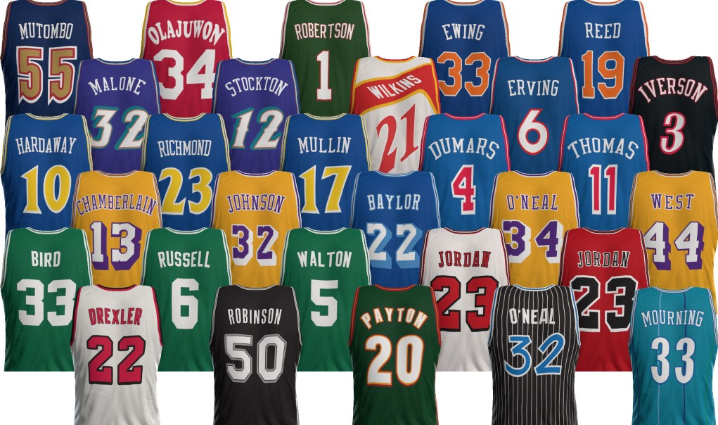 All NBA 2K15 Throwback Jerseys Available Until 11:59 PM PT ...
