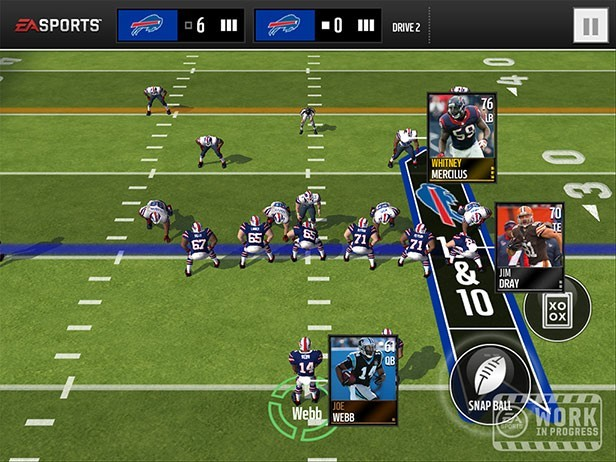Madden NFL Mobile Screenshot #1 for iOS