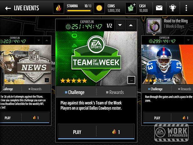 Madden NFL Mobile Screenshot #3 for iOS