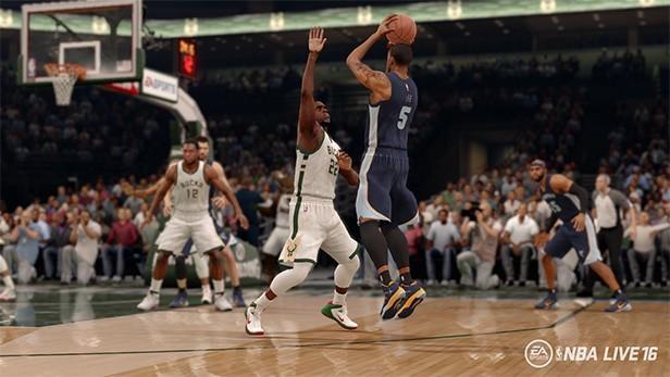 NBA Live 16 Screenshot #44 for PS4