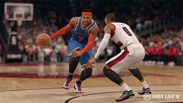 NBA Live 16 Screenshot #46 for PS4