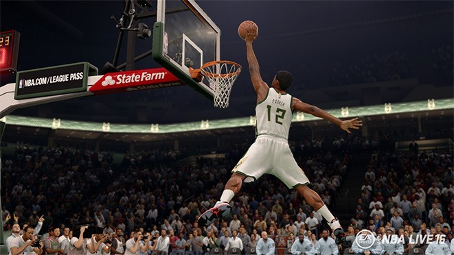 NBA Live 16 Screenshot #47 for PS4