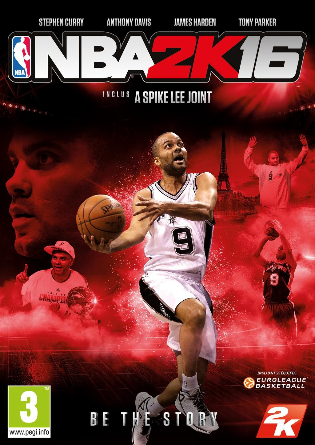 2K France has revealed the French cover for NBA 2K16 , featuring Tony ... Nba 2k14 Custom Covers Xbox