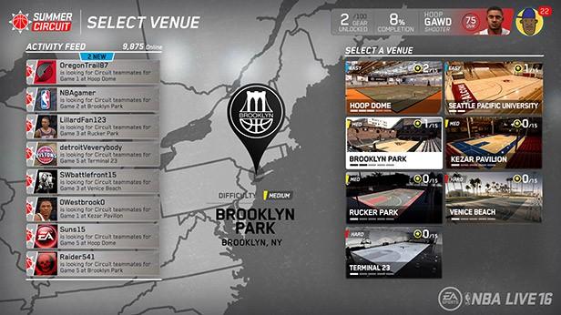 NBA Live 16 Screenshot #77 for PS4