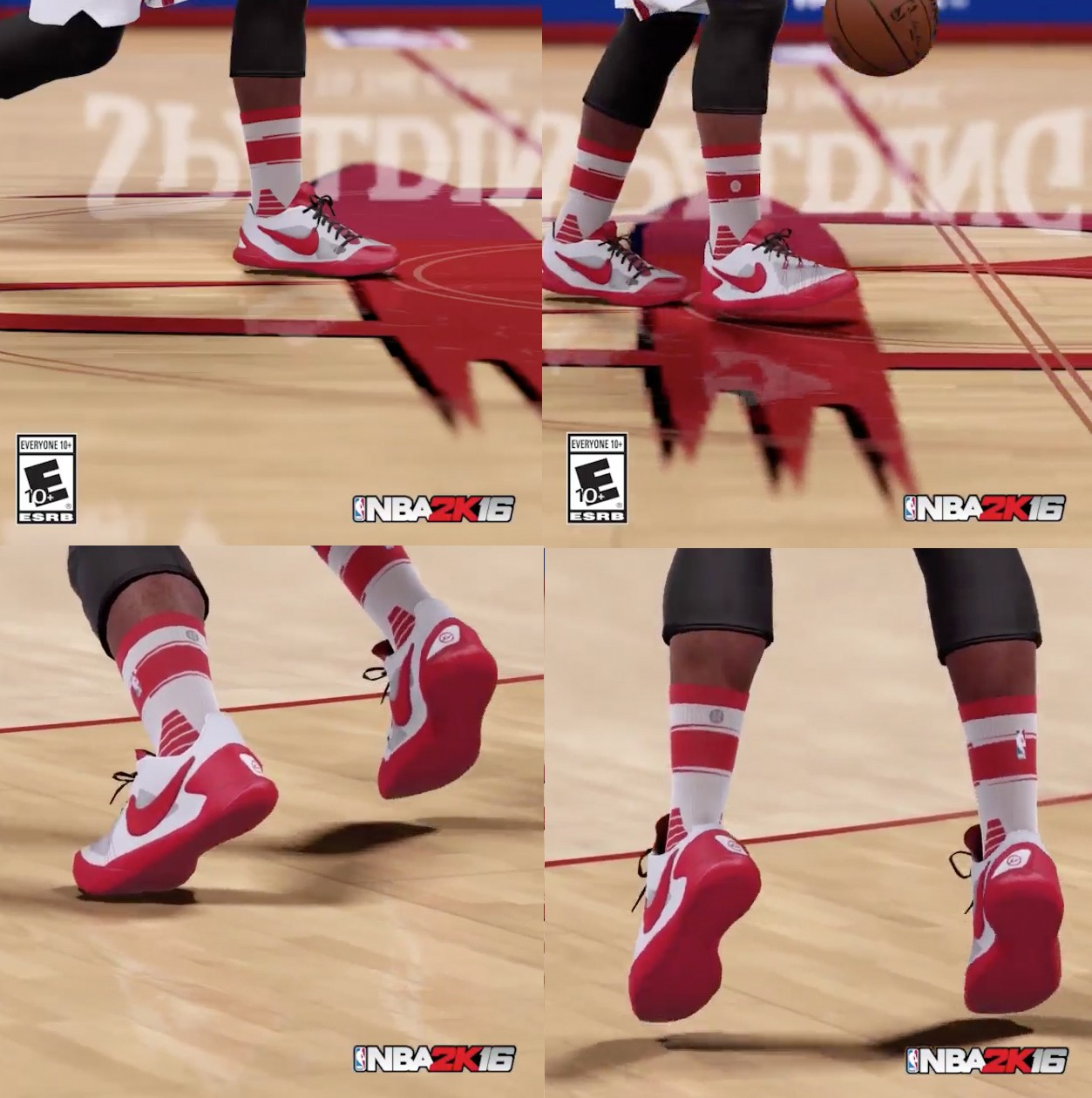 How to high wear socks in 2k16 pictures