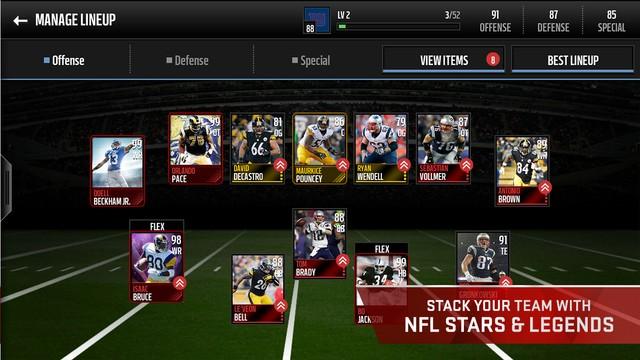 Madden NFL Mobile Screenshot #6 for iOS