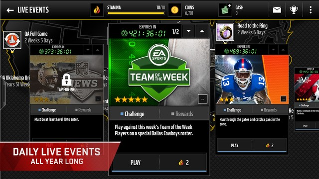 Madden NFL Mobile Screenshot #8 for iOS