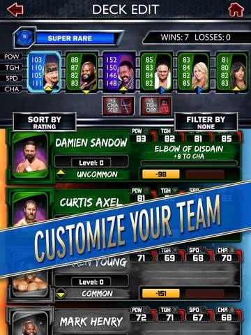 WWE SuperCard Screenshot #7 for iOS