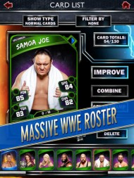 WWE SuperCard screenshot #9 for iOS - Click to view