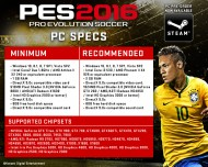 PES 2016 screenshot #1 for PC - Click to view