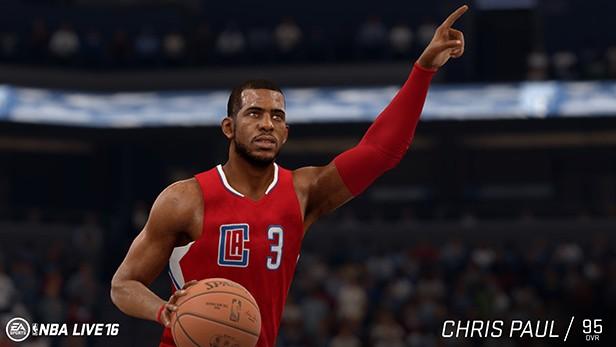 NBA Live 16 Screenshot #105 for PS4