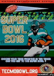 Tecmo Super Bowl 2016 screenshot #1 for PC - Click to view