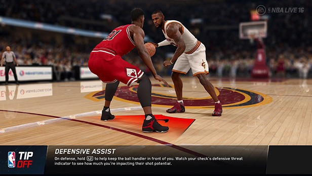 NBA Live 16 Screenshot #111 for PS4