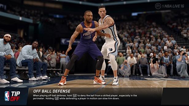 NBA Live 16 Screenshot #80 for Xbox One