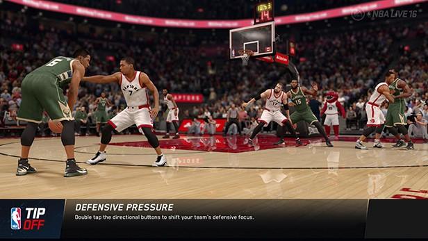NBA Live 16 Screenshot #82 for Xbox One