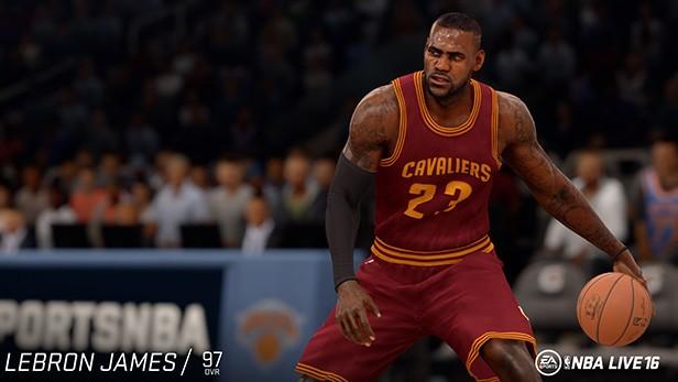 NBA Live 16 Screenshot #122 for PS4