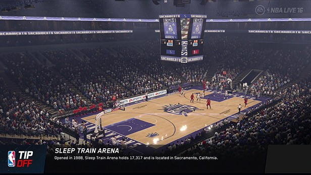 NBA Live 16 Screenshot #132 for PS4