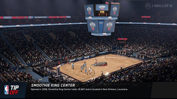 NBA Live 16 Screenshot #139 for PS4