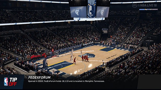 NBA Live 16 Screenshot #143 for PS4