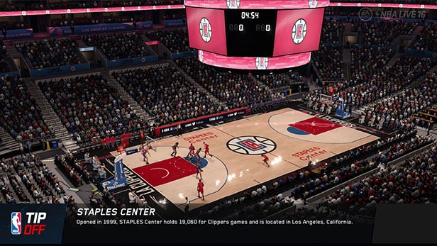 NBA Live 16 Screenshot #144 for PS4
