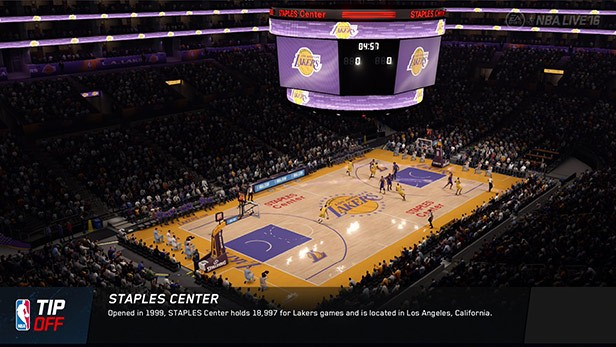 NBA Live 16 Screenshot #145 for PS4