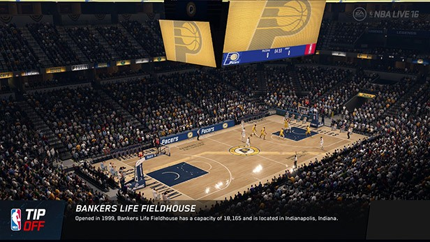 NBA Live 16 Screenshot #146 for PS4