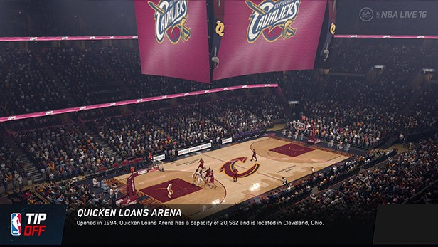NBA Live 16 Screenshot #152 for PS4