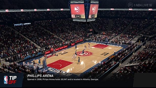 NBA Live 16 Screenshot #157 for PS4