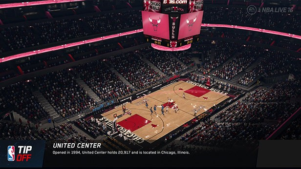 NBA Live 16 Screenshot #122 for Xbox One