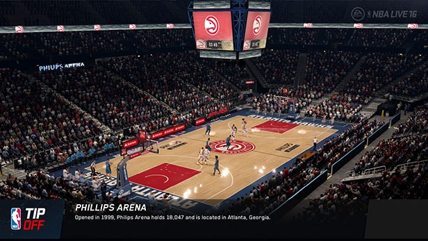 NBA Live 16 Screenshot #126 for Xbox One