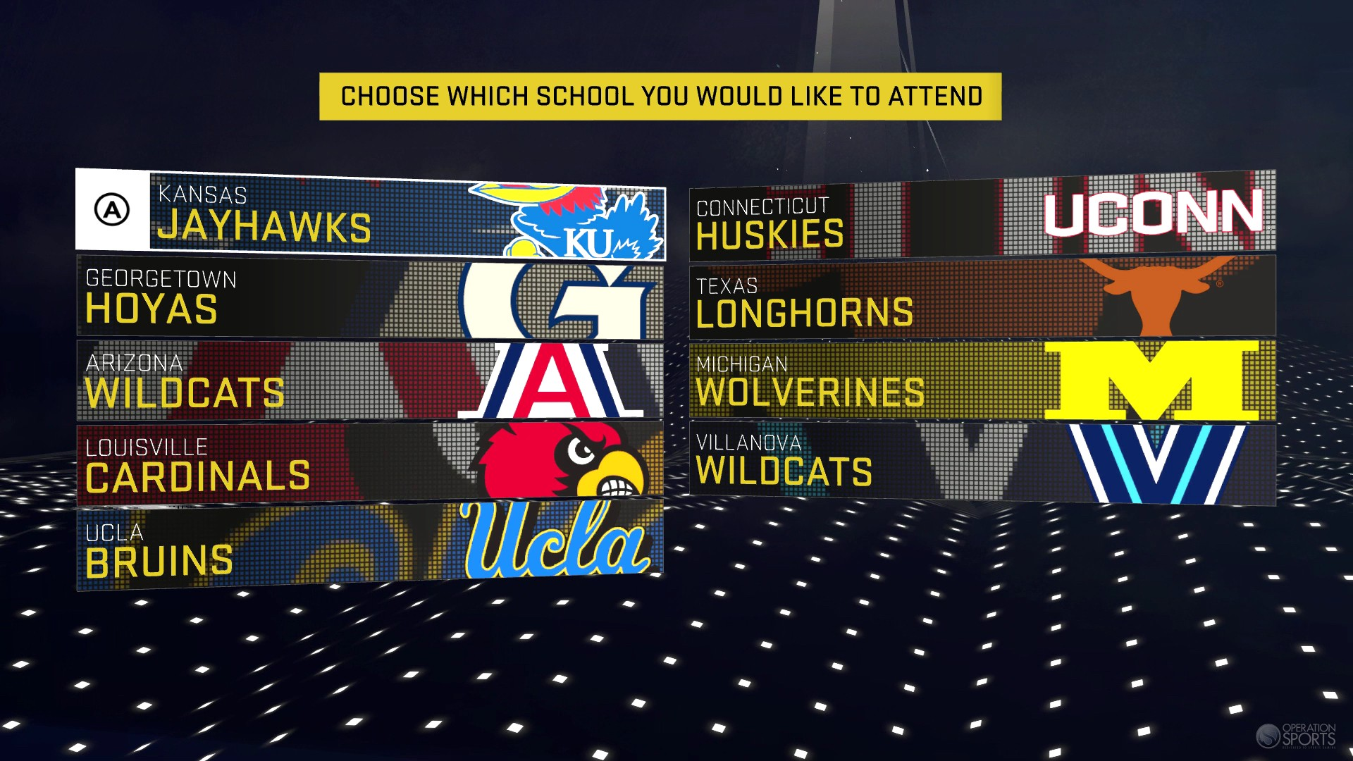 10 Confirmed Colleges In Nba 2k16 Operation Sports