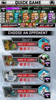 NHL SuperCard screenshot gallery - Click to view
