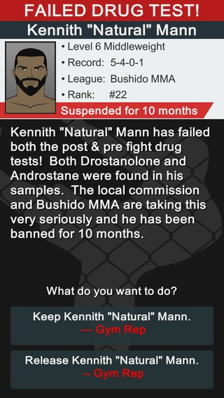 MMA Manager Screenshot #3 for iOS