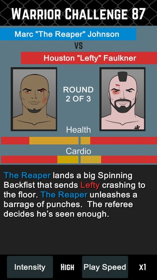 MMA Manager Screenshot #5 for iOS