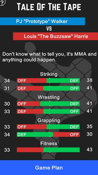 MMA Manager Screenshot #8 for iOS
