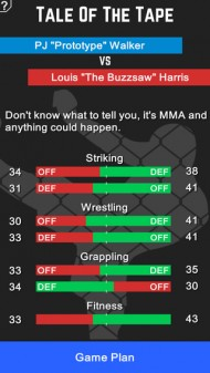MMA Manager screenshot #8 for iOS - Click to view