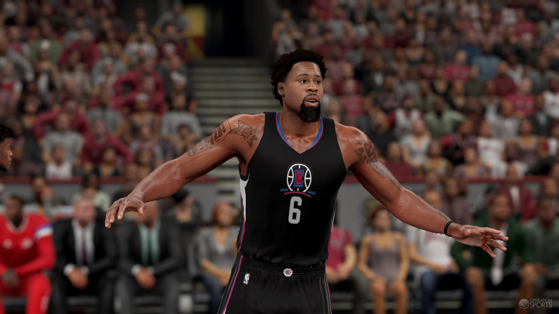 NBA 2K16 Adds Mask For Derrick Rose Amp Clippers Black