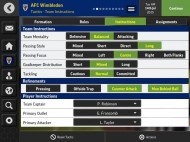 Football Manager Mobile 2016 screenshot #2 for Android, iOS - Click to view