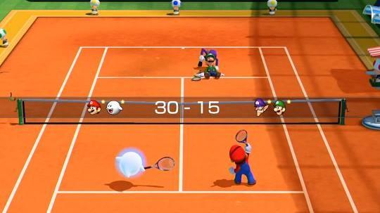 Mario Tennis: Ultra Smash Screenshot #2 for Wii U