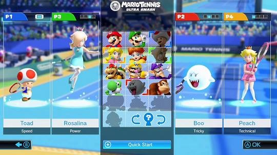 Mario Tennis: Ultra Smash Screenshot #3 for Wii U
