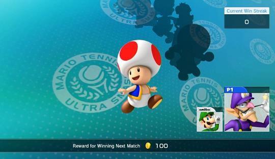 Mario Tennis: Ultra Smash Screenshot #4 for Wii U