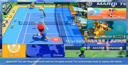 Mario Tennis: Ultra Smash Screenshot #8 for Wii U