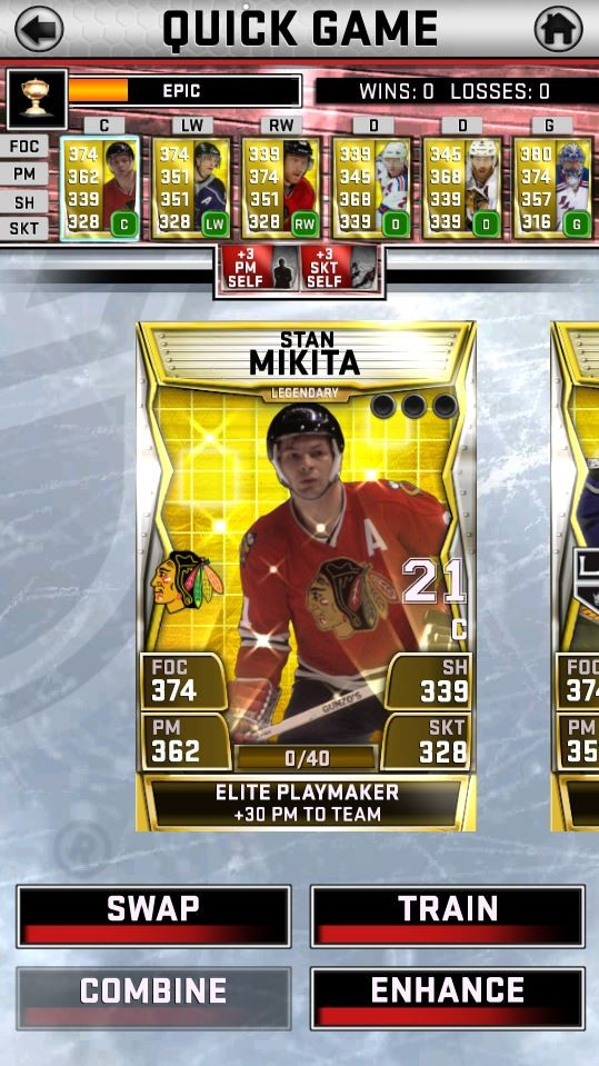 NHL SuperCard Screenshot #22 for iOS