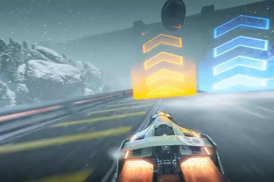 Fast Racing Neo Screenshot #3 for Wii U