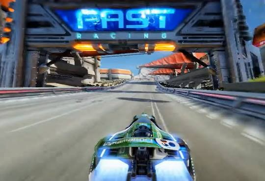Fast Racing Neo Screenshot #5 for Wii U