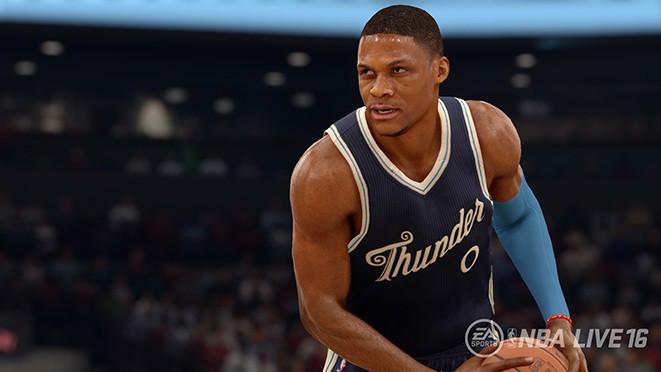 NBA Live 16 Screenshot #232 for PS4