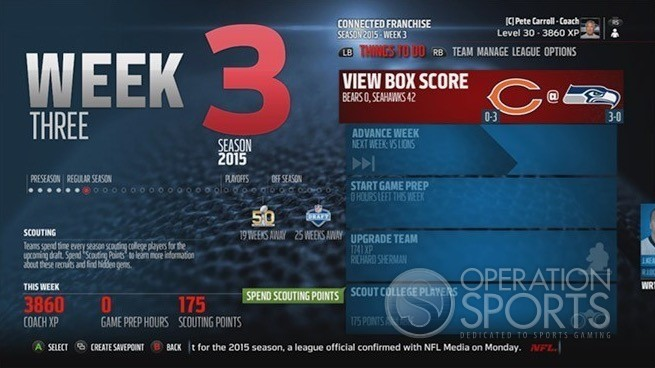 Operation Sports Screenshot #1204 for Xbox 360