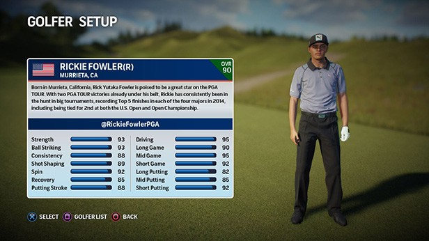 Rory McIlroy PGA TOUR Screenshot #104 for PS4